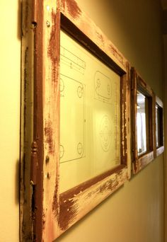 marcos de madera de ventanas recuperadas by #lanoblemadera