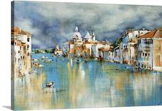 Season in Venice, 60 X 40. Great Big Canvas $444.99