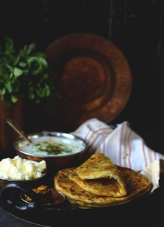Packed with excitement; that describes the Aloo Methi Parathas best of all! Served with simple raita, freshly churned white butter and aam ka achaar, these Methi Parathas are one of our favorite winter breakfast. funfoodfrolic.com