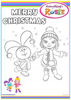 everythings rosie coloring book pages - photo#8