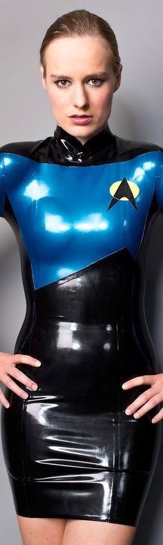 Posts about Cosplay written by Collin J Wood Latex Cosplay, Maid Cosplay, Cosplay Outfits, Best Cosplay, Cosplay Girls, Cosplay Costumes, Latex Costumes, Star Trek Crew, Star Trek V