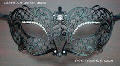 Lavina Metal Eye Mask