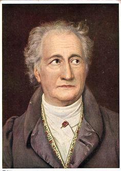 Bekende afbeelding van Goethe
