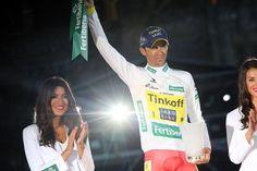 Vuelta a España 2014 - Stage 21: Santiago de Compostela (ITT) - blank 9.7km photos - Alberto Contador (Tinkoff-Saxo) - multiple jersey winner!