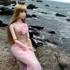 A new dress for Momoko. She's pretty in pink. Find the item in the shop (link in profile). The Momoko pictured is a redressed Safari of Dry Wind (cold version). Day 146 of #365project. #momoko #momokodoll #megannart #pacificgrove #mermaidmomoko #tinycrown #montereylocals #pacificgrovelocals- posted by Megann Z https://www.instagram.com/megann.art. See more of Pacific Grove, CA at http://pacificgrovelocals.com