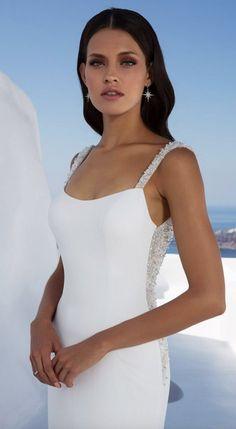Courtesy of Justin Alexander wedding dresses