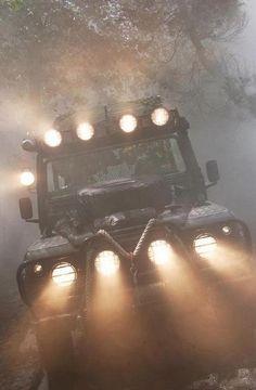 Land Rover Defender.....love the lights