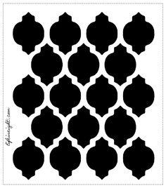 trellis pattern vector – Homes Tips Stencils, Stencil Templates, Stencil Patterns, Stencil Diy, Moroccan Stencil, Moroccan Design, Hobbies And Crafts, Arts And Crafts, Trellis Pattern