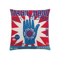 Magic Hand Cushion Cover Design-Inspirationen auf Fab.