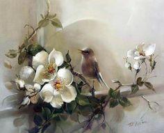 Мобильный LiveInternet Розы австралийской художницы Jill Kirstein.. | Juliana-Juliana - Дневник Juliana-Juliana |