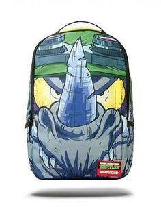 SPRAYGROUND TMNT ROCK STEADY DOPE URBAN ART SCHOOL LAPTOP BOOK BAG BACKPACK B685