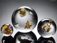 Grafika, Kule, Bukiety, Kwiatów