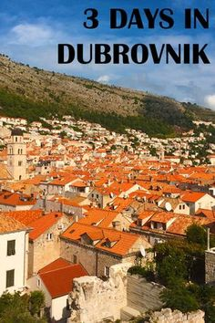 3 Days in Dubrovnik, Croatia - a useful itinerary for what to see & do in Dubrovnik | Jackie Jets Off