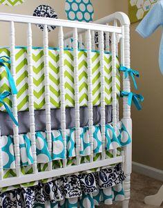 Gender neutral baby bedding