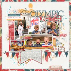 The Olympic Torch - Digital Scrapbooking Ideas - DesignerDigitals