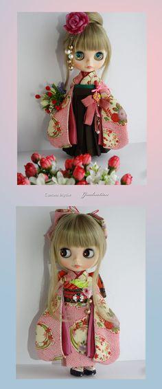 Kimono Blythe doll