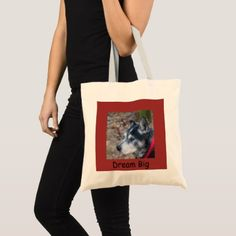 Your pet tote bag - animal gift ideas animals and pets diy customize