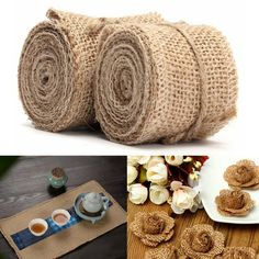 2M Vintage Jute Hessian Burlap Ribbon Wedding Party Gift Decoration 40 60mm   What does include #goodbuy:  Enjoyable shopping at cheapest prices Best quality goods 24/7 support & easy communication 1 day products dispatch from warehouse Fast & reliable shipment (7-25 business...