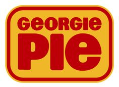 (fun fact) Georgie pie is a New Zealand fast food restaurant made in It was made to be a competitor to restaurants such as McDonald's, but McDonald's later bought out Georgie Pie. 1980s Kids, New Zealand Food, Kiwiana, Logo Food, Burger King Logo, Vintage Posters, Childhood Memories, Nostalgia, Image