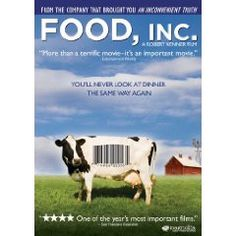 The grandaddy of them all in terms of food documentaries. This one started getting people to look more closely at the industrialization of the food industry and what we actually eat.
