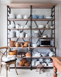 Dining Room Shelving - The Wood Grain Cottage