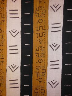 "Mali African Mud Cloth Homespun Fabric, Textile, Sewing, Decor, Clothing, Original 40"" X 136"" by EthosEthnicArt on Etsy"