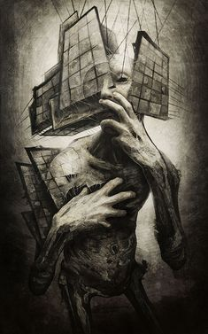 Znalezione obrazy dla zapytania japanese horror art