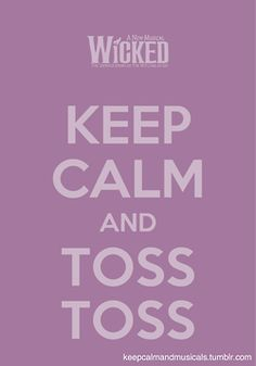 \'Toss, toss!\' = my dad\'s favorite line of the entire show