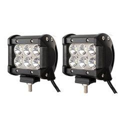 "LED Work Light Bar Lamp 2pcs 4"" 18W  Tractor Boat Off-Road 4WD 4x4 12v 24v Truck SUV ATV Spot Super Bright"