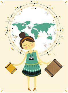 Quero viajar o mundo inteiro