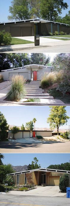 Eichler Homes- grew up with a bunch in the neighborhood. My mom HATED them, I loved them...courtyards!