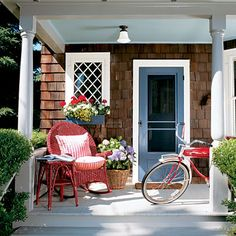 Under The Table and Dreaming: 55 Different Front Door Inspiration Ideas {in just about every paint color possible}