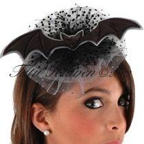 Black Bat Fascinator headband and Choker : http://tutuheaven.com/category_189/Fascinators-Hats.htm