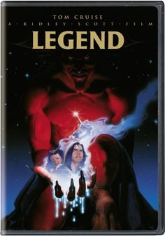 Legend DVD ~ Tom Cruise, http://www.amazon.com/gp/product/B0007PLLQ0/ref=cm_sw_r_pi_alp_7poaqb1GNB86C  Both European (Gerry Goldsmith score and additional footage) and US version (Tangerine Dream score)