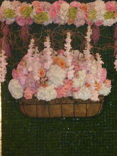 Floral Art Table Settings, Create, Unique, Floral, Wedding, Painting, Art, Florals, Casamento