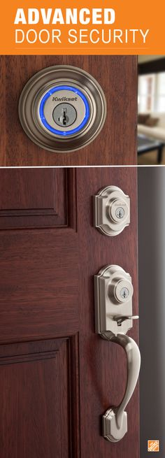 Door locks are smarter, more secure and more convenient than ever. Bluetooth connection on Kwikset locks turns your smartphone into a key. And SmartKey® technology means you can re-key your lock in seconds. See all our advanced Kwikset door locks, knobs and levers at The Home Depot.