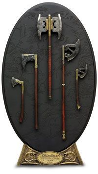 The Arms of Gimli Weapon Scaled Replica