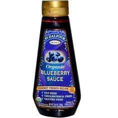 St. Dalfour, Organic Blueberry Sauce, 10.6 oz (300 g) - iHerb.com
