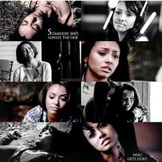 I have to admit earlier season I didnt really care for Bonnie but now I realize how much she really has sacrificed for everyone.  She deserves to be happy. She is the true hero of the show.