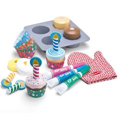 Toy Cupcake Decorating Set - All Toys - Toys & Gifts - gltc.co.uk