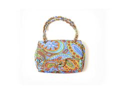 Psychedelic Purse / 1960s Purse / 60s Bag / от MissouriCrossing