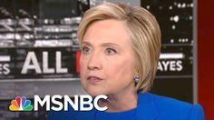 Hillary Clinton: 'Quite Telling' Donald Trump Attacks Black Athletes Not...