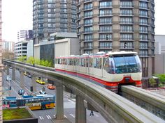 The Seattle Center Monorail   #Seattle #Monorail