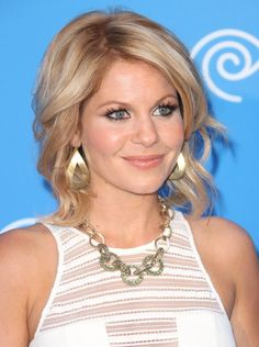 Candace Cameron Bure Medium Hairstyles - Women Medium Wavy Haircuts 2013
