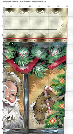 Candy cane Santa 2