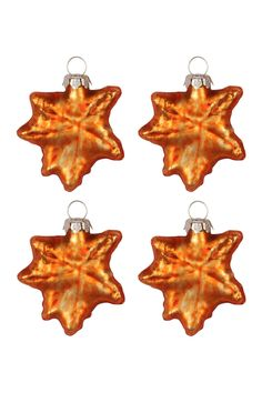 Use these autumn leaves ornaments from Halloween to Thanksgiving!