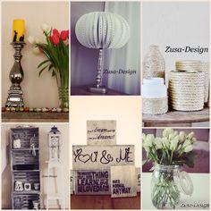 ZUSA-DESIGN | Een kleine collage van wat wij tot nu toe hebben gemaakt! Aboneer je snel op www.zusa-design.nl Liefs, Kim en Bo #wonen #diy #inspiratie #interieur #cadeau #pasen #feestdagen #lamp #touw #vaas #woonkamer #kast #tekstbord #steigerhout #kaars #papier