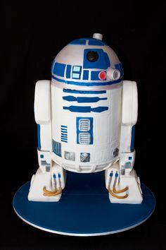 R2D2 Step By Step – Stacked Cakes, Canberra Specialty Cake Decorators - Cake Blog