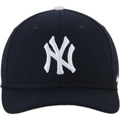 Men's New York Yankees Nike Navy Wool Classic Adjustable Performance Hat -