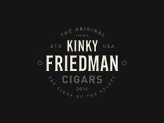 Kinky Friedman Cigars by Steve Wolf